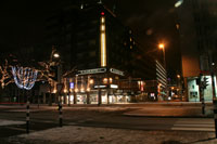 Foto: Coolsingel in wintertooi