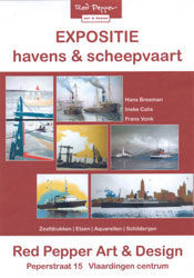 Poster Red Pepper Art - Havens & Scheepvaart