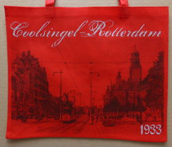 Come Bag Back - Coolsingel Zwart/Rood