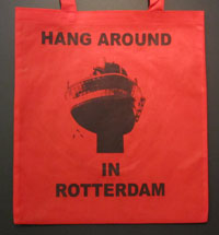 Come Back Bag - Hang rood