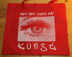 Come Back Bag - Kunst rood